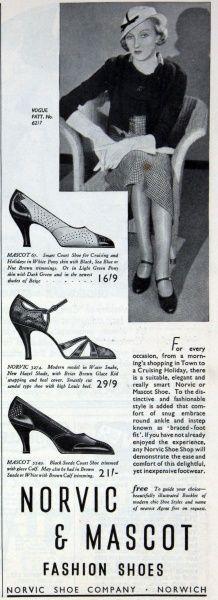 Norvic Shoe Co 1933