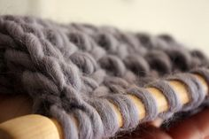 5 tips for knitting with super size needles - I LOVE my size 36 needles!!!