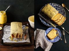 Passion fruit meringue pie | Drizzle and Dip
