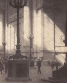 Karl Struss Pennsylvania Station New York, 1911