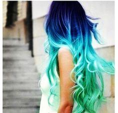 Weird but pretty colors!