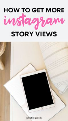 Learn how to get more REAL Instagram stories views with this guide to improving your reach and impressions. Engage your audience and grow your IG profile. Click here. #instagram #instagramstories #instagramstoryviews #instagramstoriesviews #instagramtips #instagramstoryideas