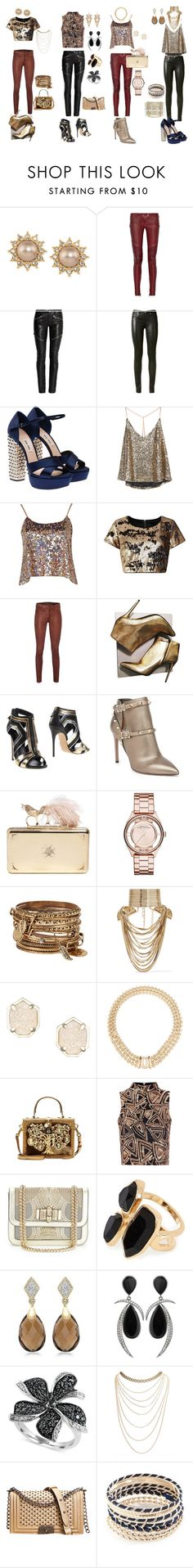 """369"" by violetwednesday ❤ liked on Polyvore featuring Carolee, Balmain, Yves Saint Laurent, Miu Miu, Boohoo, Dolly & Delicious, rag & bone, Alexander McQueen, Casadei and Valentino"