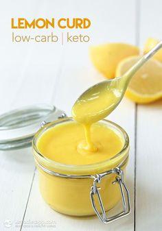Low-Carb Lemon Curd (keto, paleo/ primal)