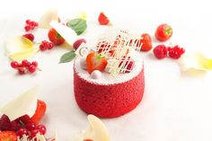 Angel Cakes - Red Berry - Pâtisserie Ciel - Japanese sweet cake