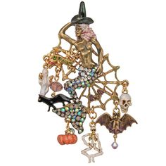 Siabra Sea Witch Mermaid Halloween Pin/Enhancer: Kirks Folly Online Web Store
