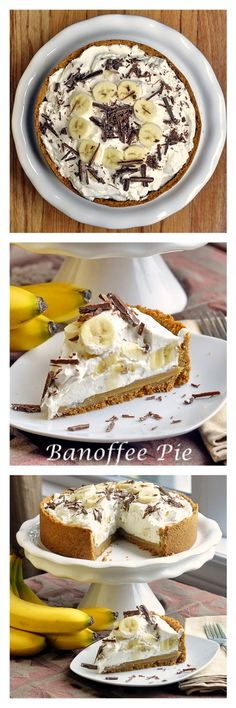 "Our Banoffee Pie recipe won The Today Show ""Home Chef Challenge"" with of the vote. Do you fancy a piece? Our Banoffee Pie recipe won The Today Show Home Chef Challenge with of the vote. Do you fancy a piece? Pie Recipes, Sweet Recipes, Dessert Recipes, Cooking Recipes, Banoffee Pie, Banoffee Recipe, Just Desserts, Delicious Desserts, Yummy Food"