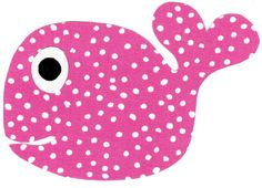 Whale applique iron on  DIY by patternoldies on Etsy, $3.00