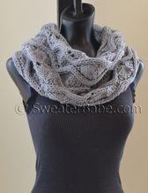 chunky eternity scarf knitting pattern