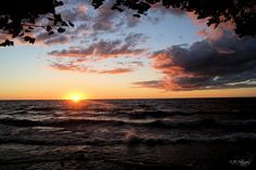 Sunset: Lake Ontario, Oswego, NY