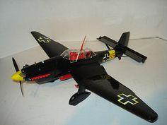 Cox Thimble Drome German WWII Stuka 049 Control Line Airplane w Box Minty | eBay