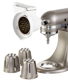 KitchenAid RVSA Stand Mixer Attachment, Rotor Slicer/Shredder - Electrics - Kitchen - Macy's