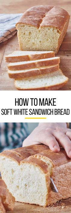 How To Make Basic White Sandwich Bread, a Step-by-Step Recipe with Photos. Recipes for homemade bread have never been as easy as this one! We'll show you everything you need to know to make a perfect loaf of delicious bread with yeast.