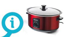 Buy Morphy Richards 48703 3.5L Aluminium Slow Cooker - Black at Argos.co.uk - Your Online Shop for Slow cookers.