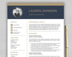 Microsoft Word Professional Letter Template Enchanting Professional Resume Template For Word  1 And 2 Page Resume Template .
