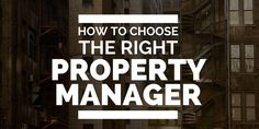 Knowing how to choose the right rental property manager is crucial to your real estate business. Do you know how to find the best in your market?  Click here to learn more: http://www.biggerpockets.com/renewsblog/2015/01/14/rental-property-manager-how-to-choose/