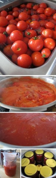 Recept na paradajkový pretlak