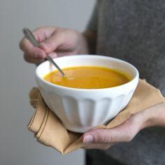 Soep van geroosterde groenten met ras el hanout - Dille & Kamille | Herfst op tafel!