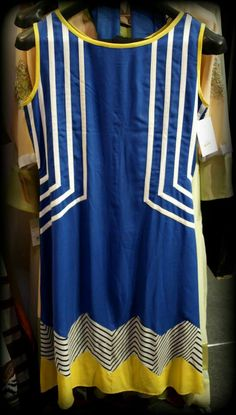 Blue kameez White stripes at neck Stylish Dresses For Girls, Stylish Dress Designs, Dress Neck Designs, Designs For Dresses, Simple Dresses, Casual Dresses, Fashion Dresses, Girls Dresses, Pakistani Formal Dresses