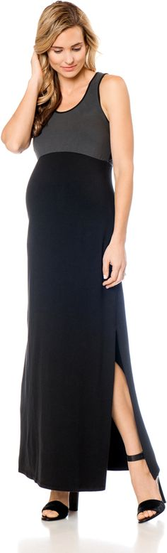 Apeainthepod Sleeveless Back Interest Maternity Maxi Dress Maternity Fashion, Maternity Maxi, Bump Style, Dresses For Work, Lady, Pregnant Clothes, Fashion Ideas, Baby Shower, Pregnancy Style