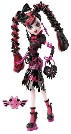 Draculaura - Sweet Screams -- I got this one second-hand so she's missing most of the accessories