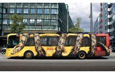 Innovative Bus Wrap