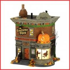 What you will find here is a good mixture of Department 56 Halloween Village Buildings. These are possibly the most popular items in the range...