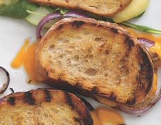Spur-of-the Moment Barbecue Idea: Grown-up Grilled Cheese Sandwiches
