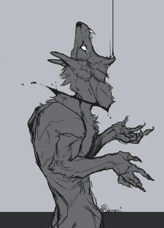A work in progress inspired by Fragments - an Unkindness Creature Concept Art, Creature Design, Fantasy Character Design, Character Art, Werewolf Art, Vent Art, Arte Obscura, Creepy Art, Monster Art