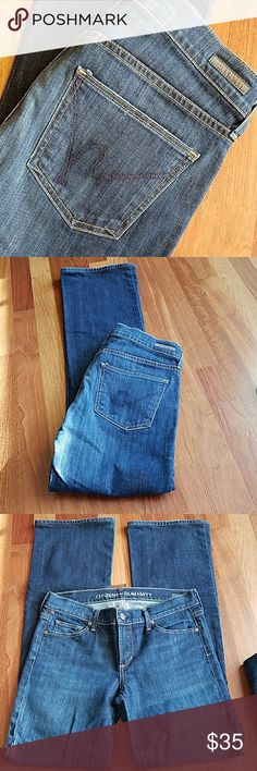 COH Kelly Jeans Low-rise bootcut.  Nice condition.  Inseam 32 Citizens Of Humanity Jeans Boot Cut