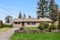 Just Sold in Mountlake Terrace for well over asking price! Cozy Rambler! Congrats to the sellers are a successful sale