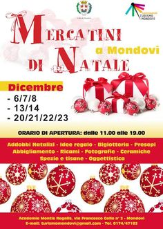 Mercatini di Natale a Mondovì