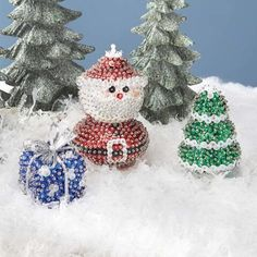 Sunrise Craft & Hobby™ A Tree for Santa Ornament Kit