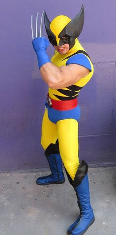 Hello guys, this is my first Xmen costume. It's Wolverine from the cartoon, and my favorite character from X-Men. X Men Costumes, Halloween Costumes, Halloween 2014, Halloween Outfits, Happy Halloween, Marvel Comic Books, Marvel Comics, Wolverine Costume, Evil Children