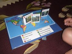 World Biomes Pin Map | Maybe do this on a bigger scale? Biomes pin map on bulletin board in the classroom?