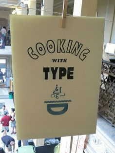 cooking with type