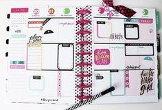 CLASSIC Happy Planner page idea