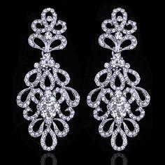 Brautschmuck ohrringe hängend  THOMAS SABO Glam & Soul Sterling Silver Ohrringe | Uhren