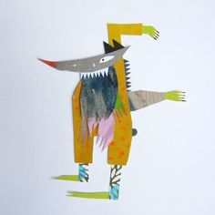 contemporary artists/illustrators and the paper maquette | Clive Hicks-Jenkins' Artlog:
