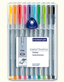 I imagine perfectly organized, colour coded notes would magically appear, if only I had these pens.