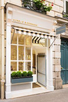 Parisian storefront.