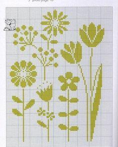 Cross Stitch and . Cross Stitch Boards, Simple Cross Stitch, Cross Stitch Flowers, Cross Stitching, Cross Stitch Embroidery, Embroidery Patterns, Cross Stitch Designs, Cross Stitch Patterns, Tapestry Crochet