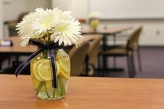 college graduation party ideas food | Cup of Delight: Graduation Banquet Centerpiece {Festive Delights}