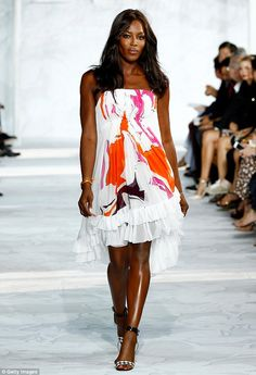 Naomi Campbell brought her star power to the Diane von Furstenberg runway show at #NYFW http://dailym.ai/1lR84l0