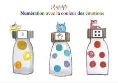 Preschool Math, Kindergarten Activities, Fun Math, Teaching Math, Emotions Activities, Petite Section, Grande Section, Busy Bags, Toddler Learning