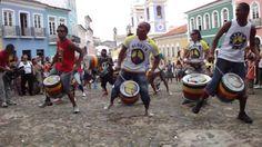 Olodum in Salvador de Bahía... http://brazilianpercussion.blogspot.com/2014/01/olodum-in-salvador-de-bahia.html