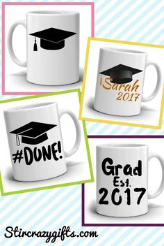 Masters degree graduation gift for her graduation gift for him personalized graduation cap gifts mug unique grad gifts for men and women graduate coffee cup printed on both sides graduation diygift solutioingenieria