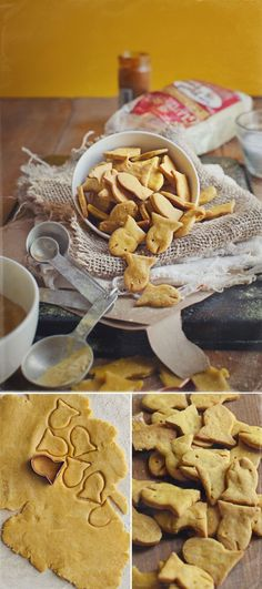 Homemade vegan, gluten free goldfish