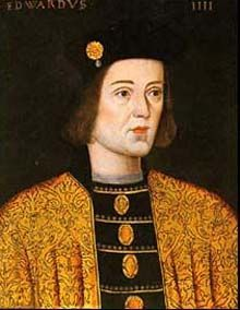 Edward Plantagenet Duke of York, Earl of March, Earl of Cambridge and Earl of Ulster, from the House of York. He was the first Yorkist King of England. Edward Plantagenet seized the throne as Edward IV in and all of his titles merged with the crown. Uk History, History Of England, Tudor History, British History, Family History, Medical History, European History, History Facts, Ancient History