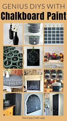 Chalkboard Paint Projects, Honey Rose, Thing 1, S Mo, Painting Tips, Paint Ideas, Chalk Paint, Craft Supplies, Check